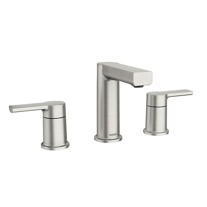 lavatory faucet rinza 2 handles brushed nickel