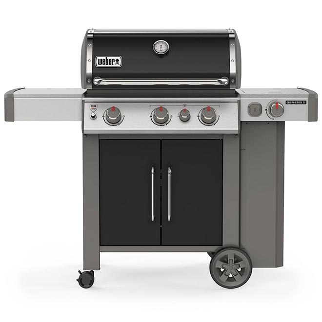 barbecue weber au gaz propane genesis e 335 noir