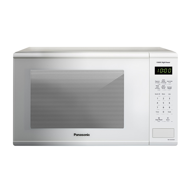 counter top microwave oven 1 3 cu ft white 1 100 w