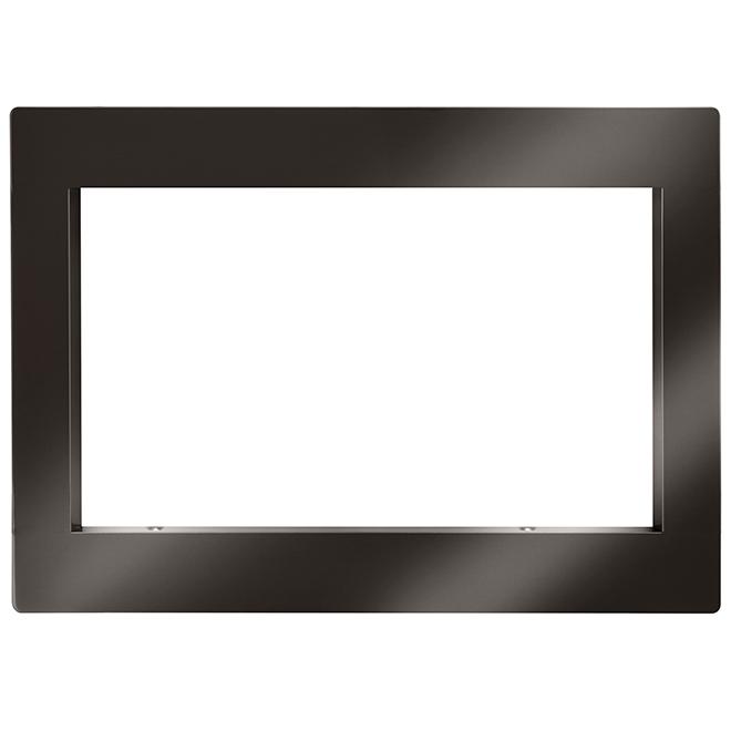 lg microwave oven trim kit 30 black stainless steel