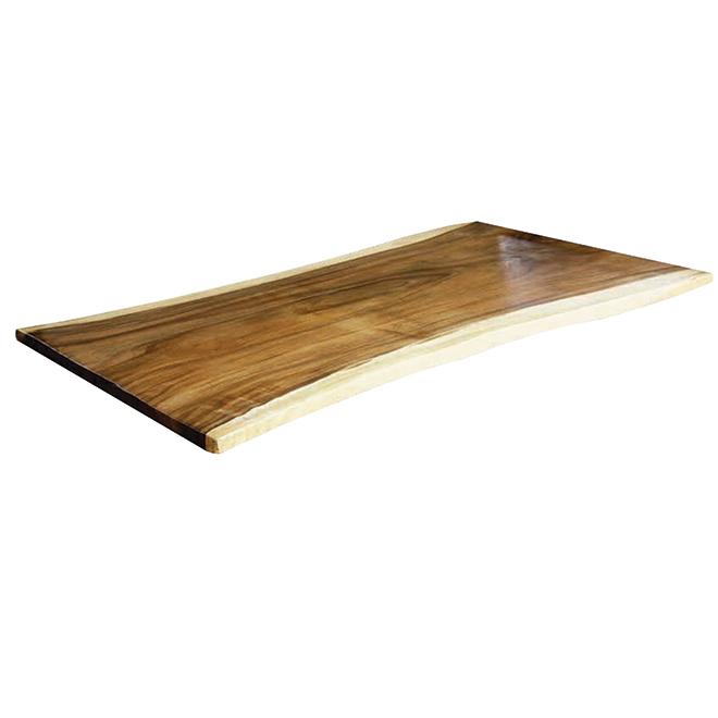 dessus de table ou d ilot bois d acacia