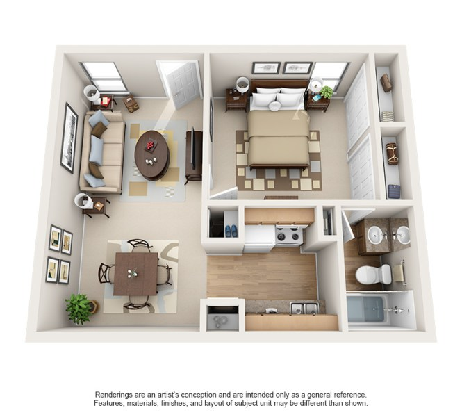 One Bedroom Apartments In Houston Tx The Terraces On Brompton