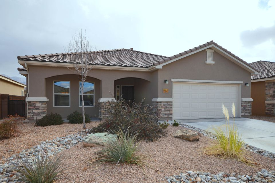 Located in the Del Webb, Alegria, 55+ adult community, this lovely Taos model has a bright open floor plan with a large great room with custom stacked stone fireplace. Fabulous kitchen has stainless appliances including granite counter tops, gas cook top, built-in microwave, island/bar, breakfast nook and walk-in pantry. Spacious master bedroom has a large walk-in closet and bath with two sink vanity, tub and separate shower. Two additional bedrooms and full baths. Home has instant hot water and ceiling fans in living room and all bedrooms. Community has walking/biking trails, indoor and outdoor swimming pools, clubhouse and more.