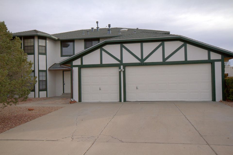 Spacious home with large formal and dining area. Open concept in the family room, kitchen, breakfast room, and formal dining. Gas fireplace in family room. Porcelain tile in open area and entry way. Grand entryway. Large bedrooms. Master Bedroom has wood burning fireplace. Jetted tub in Master Bath. Beautiful backyard with manicured grass. New cabinets professionally installed last year. Granite counter top. Brand new refrigerator and dishwasher. Gas stove and microwave are one year old.