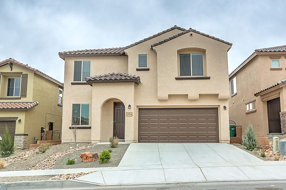 OPEN FOR SHOWINGS TODAY! This brand new, never lived in Pulte home is located in the final phase of the Loma Colorado community. When you buy new, you enjoy new appliances, carpet, roof, windows, tank-less water heater & more! The beautifully appointed kitchen includes granite counters with mosaic backsplash, woodgrain tile, stainless appliances & dark cabinets with crown molding. The first floor owner's suite is designed with a tray ceiling and offers a full bath with separate tub & shower. The cathedral ceilings & large windows provide plenty of natural lighting. Off the entry is a private den with French doors, creating a perfect home office space. The wrought-iron stair railing takes you to the second floor with large secondary bedrooms & spacious loft. Energy efficiency standard.