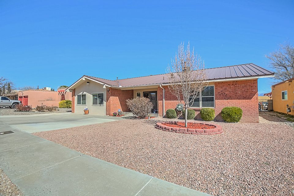 Taylor Ranch beauty with pride of ownership inside and out!  Meticulously Maintained with Upgrades galore!  Amenities include New Refrigerated Air, New Furnace, Newer Metal Roof, New Low-E Windows, New Entry Doors, New Patio Doors, New Blinds Throughout, Recent Stucco, TWO Family Living Areas, Newer Carpet, Storage Room 19.3x5' is in the house, detached 14'x12' Workshop/Shed with Natural Light, Electricity, Work Table, and Built in Shelving!  Entertain in the Private Back Yard that is landscaped! NO HOA! Extended driveway area for ample parking space. Residence is in VVHS District. Make this Taylor Ranch Beauty your own! Call a realtor today.