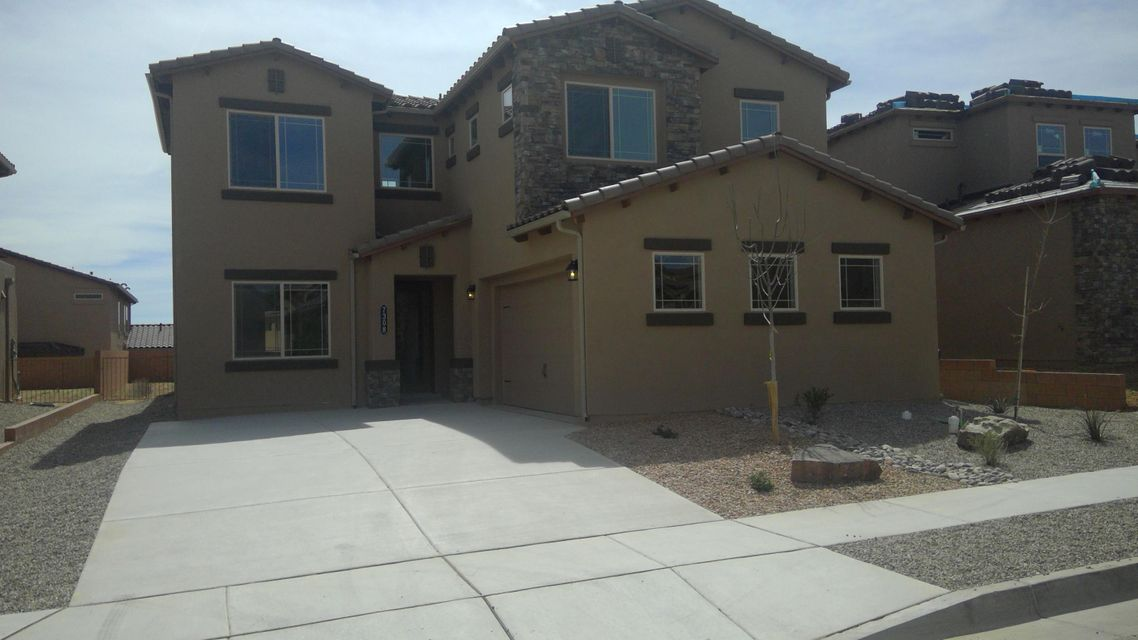 Green Build New Mexico-Silver Level with a HERS rating of 60 or better. Tank less hot water on demand. The most comfortable new homes in Albuquerque with great open living space. Outstanding area, schools, and neighborhood with walking trails and parks close by. A dog park is just a few minute walk from your house. Take the time to see what DR Horton, Inc. has to offer. These homes are built GREEN and Certified by a Green Build expert which verifies construction and HERS Ratings at Silver level. This piece of mind comes with our beautiful Valle Prado homes.