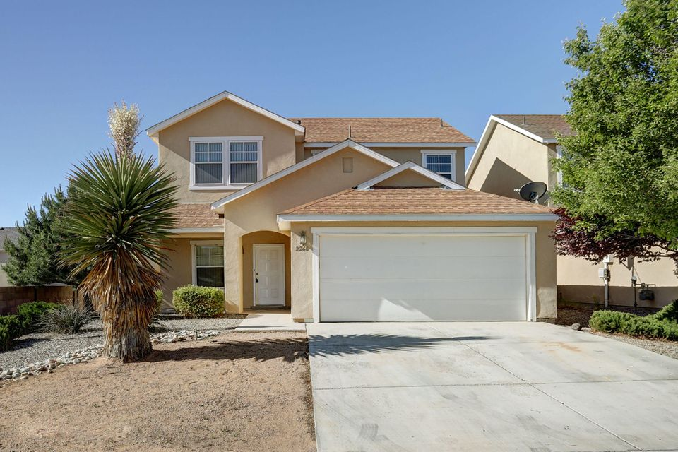 Welcome to Cabezon this home is situated on a corner lot. It has fresh paint and new carpet. Kitchen opens to family room includes gas log fireplace. Living/dining room combination at front of home. The bedrooms are all very roomy. All of this on a corner lot This home is ready to move in!