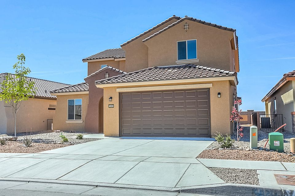 """OPEN FOR SHOWINGS TODAY. Brand new, never lived in Pulte Yucca home design. When you purchase new, you'll enjoy new appliances, flooring, windows, tile roof, A/C, tank-less water heater & more! The 1st floor is complete with a den, owner's suite, kitchen & cafe & gathering room with large 2-story ceilings & fireplace. The kitchen is designed with granite counters, stainless appliances & upgraded 42"""" upper cabinets. The wrought-iron stair spindles take you to the 2nd floor complete with big loft area & secondary bedrooms.  The den has French doors for a private home office. Home is complete with wood tile flooring & carpet. Large windows provide tons of natural lighting. Energy efficient features like Low-E windows & enhanced insulation sure to save on utility bills! Located in The Boulders"""