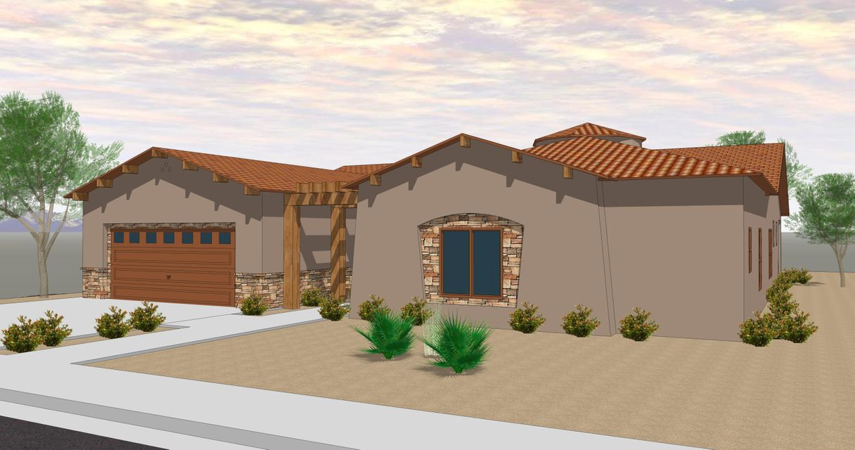Proposed Construction by RayLee Homes. The gorgeous Prince Floor Plan on a fantastic lot! Buyer picks all their structural options as well as finishes and colors! Why buy used when you can build your dream home in Ocotillo Hills today!