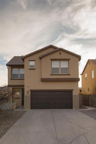 Your clients will love this beautifully updated home in gated golf course community. 5 bedrooms + office! Office could be 6th bedroom. Great functional floor plan. Completely remodeled!  French doors to landscaped backyard. All new window treatments, Refrigerated air HVAC system. Master suite with mountain views. Large walk-in closet. 4 additional bedrooms upstairs are all good sized. Laundry room upstairs. Wood grain tile and new carpet throughout.  Quiet cul-de-sac location with extra deep driveway for ample parking.  Home is currently occupied with tenants who have a lease through October but are willing to extend if buyer/investor wishes.