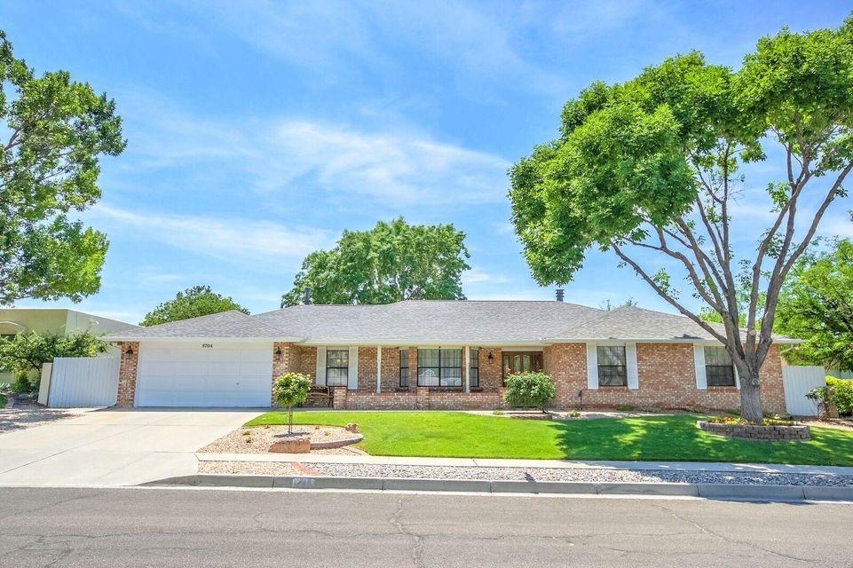 The beautiful Backyard Oasis is the backdrop for this Updated Rutledge brick hm w/4 Bedrms,  3 Baths, In-law/teen quarters & Oversized 2CG w/small gated RV area. Updated flooring, refrig A/C & New Roof are a plus! Formal living & dining area, spacious family den w/fireplace. office nook & bk shelves. Updated kitchen w/granite countertops, newer appliances, gas cooktop, pantry & nook overlook the private lush backyard w/covered patio, large redwood deck, gunite heated pool w/updated deck area, pool cover, motor & heater, storage shed w/electricity & kids playhouse. Master Suite features his & her dressing area, two walk-in closets, updated sinks w/granite counters, fixtures & full bath.  Two add'l Bedrms & full bath separate from In-law/teen qtrs & 3/4 bath. Room for the entire family!