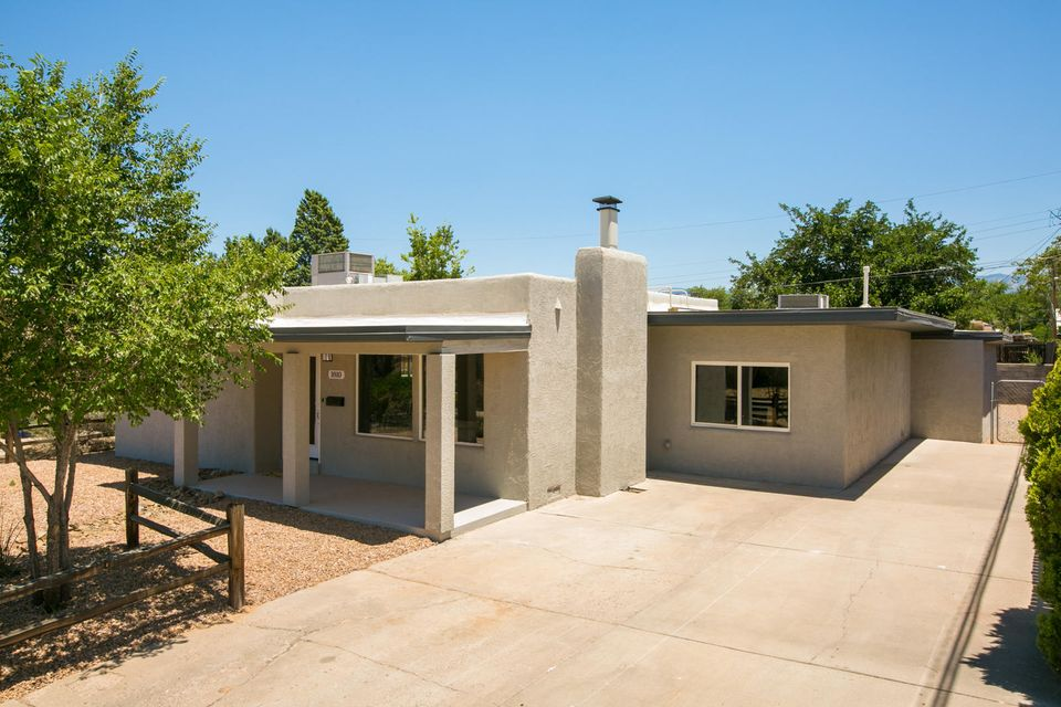 Welcome home! Make this fantastically appointed fully updated home in Altura Park subdivision yours today! You defiantly can't beat this location, with just minutes to Nob Hill and ultra-ease of access to the interstate. Property includes healthy mature xeriscape, new windows, Refrigerated Air, brand new TPO roof in 2017, light bright, open concept living, 12 x 24'' Italian ceramic tile throughout all bathrooms, chefs dream kitchen, granite surfaces, wood burning character and charm adding fire place, dual Vanity in spa like master bath, professionally refinished original hardwood floors, massive blank slate back yard... No detail overlooked. Make this house your home, act fast in today's market it will not last long.