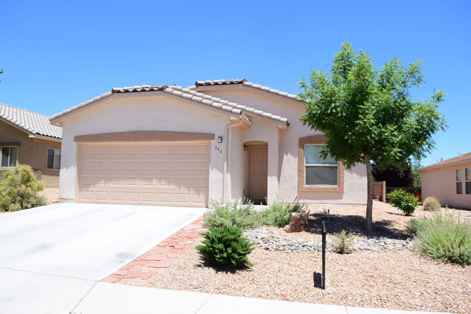 This comfortable home with two living areas offers convenience to shopping, schools and easy access to I-25. Upgrades include ceramic tile, tub and shower in master bath, full xeriscape, vaulted ceilings in living areas and attractive tile roof. Built in 2012 and well maintained, make this your new home!