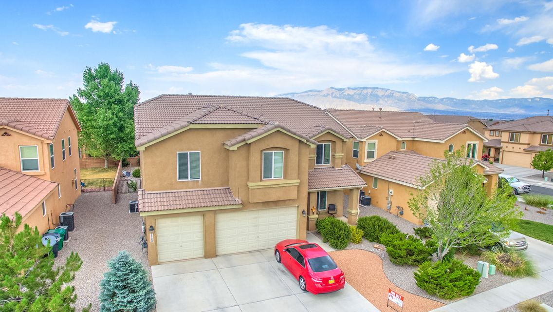 Spacious Pulte built home in the ever popular Corazon at Cabezon gated subdivision in the heart of Rio Rancho.  Features include:**Two Large Living Areas Downstairs and Huge Loft Upstairs**4 Bedrooms and 2 Full Bathrooms Upstairs**1 Bedroom and Full Bathroom Downstairs**New Carpet Installed in the Summer of 2016**Dual Zone Refrigerated Air Conditioning and Central Gas Heat**Solid Surface Countertops**Stainless Steel Appliances**Walking Distance to Schools,Public Swimming Pool, Parks, and Restaurants!!**This home has plenty of room and is ready for a new owner!