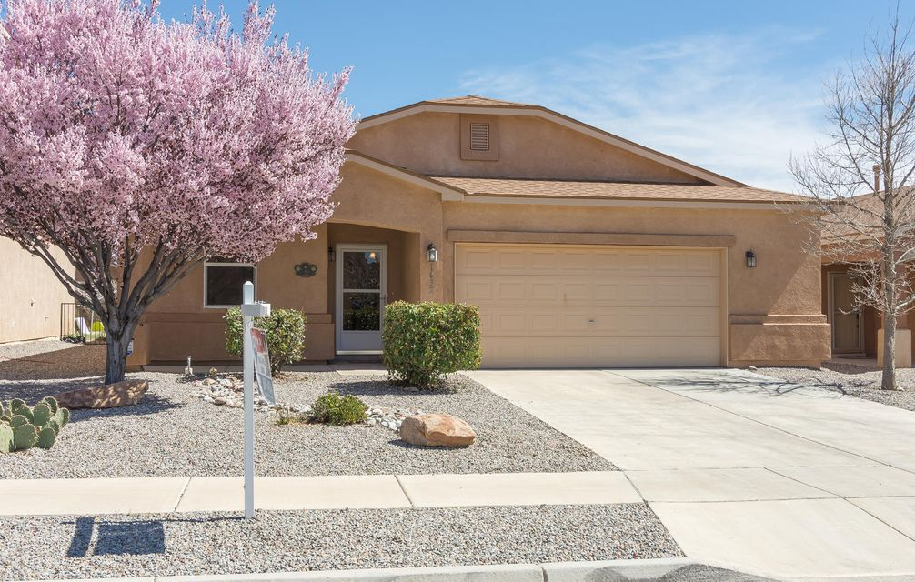Beautiful single story, 4 bedroom charmer! Located in the desirable community of Cabezon with nearby Cabezon Park, community pool & minutes to top rated schools! Fall in love with this spacious & bright floor plan featuring a lovely great room with gas log fireplace & built-in book cases. Great room opens to the kitchen offering breakfast bar, walk-in pantry, tile floor, oak cabinetry & adjacent dining area! Sliding door opens to covered patio & backyard w/artificial turf & storage shed! Large master retreat has walk-in California Closet! Master bathroom, with garden tub & separate shower! Two spacious secondary bedrooms, one with California Closet built-ins, plus separated 4th bedroom, 3/4 bathroom, perfect for guests! Oversized 2 car garage! Water filter softener! Water heater 2015!