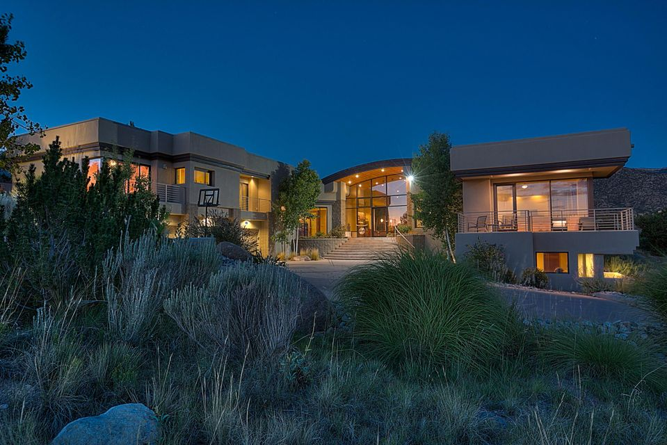Homes for sale in high desert albuquerque nm myers myers real estate - The cave the modern home in the mexican desert ...
