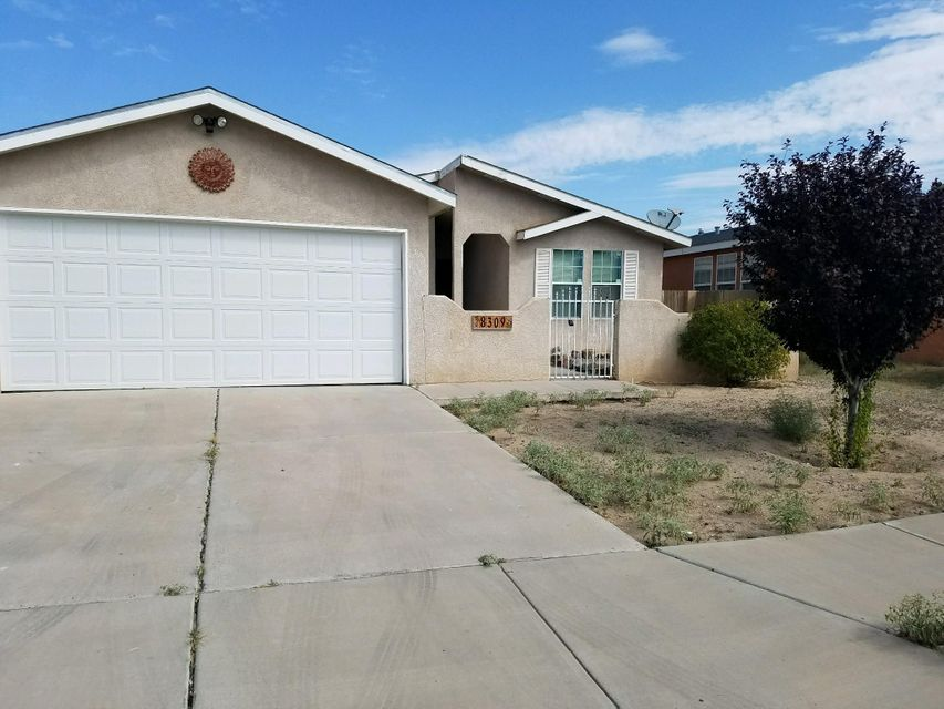 This wonderful 3 bedroom home Located on larger lot features lots of upgrades: Fresh Paint, New Water Heater, Custom cabinets, 6 panel doors, ceramic tile entry, walk in closets. Separate laundry room, clerestory windows. Master separated from other two bedrooms. Big 2 car garage and plenty of backyard space. OWNER FINANCING AVAIL!!