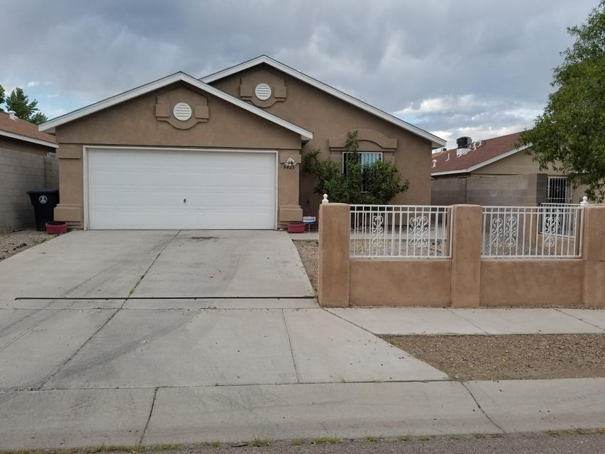 Great Starter Home with 3 bedrooms, 2 full baths and 2 car garage.