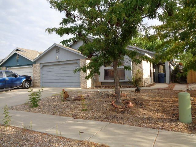 Three bedroom, 2 bath patio home with cathedral ceiling.  The living room has a window seat and rough-in for pellet stove. Most windows have wood shutters.  Double-car garage with single drive-thru garage.  Open patio and all fenced back yard.  Mature landscaping. Seller must comply with HUD Guidelines 24 CFR 206.125 and property sold As Is.