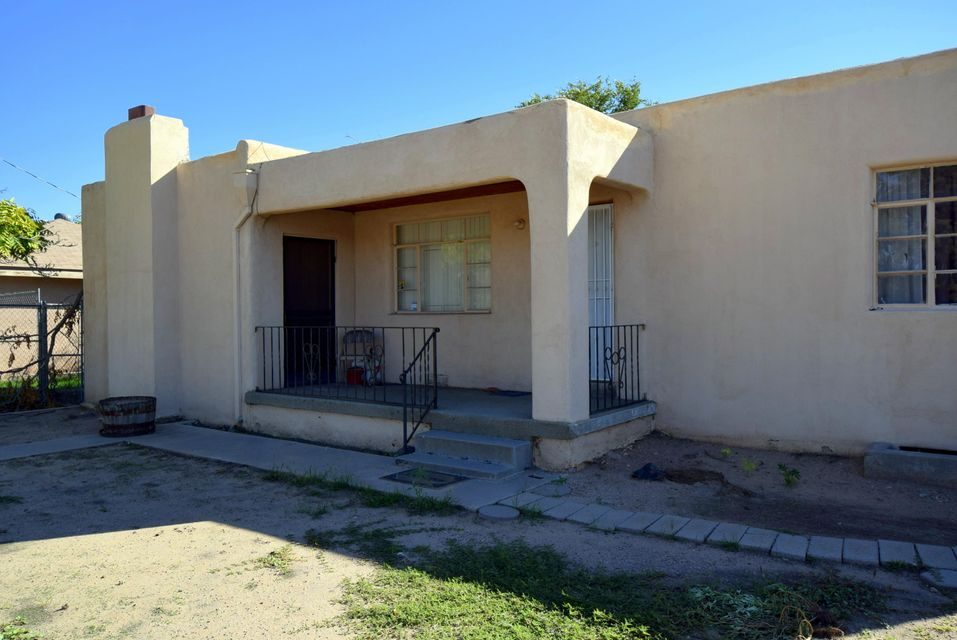 DRASTIC PRICE REDUCTION ! Possible Investment potential with a great location. This could be your home or a good rental. Zoned VC, next to commercial space on 4th St and Osuna NW. Backs up to Los Ranchos open field. Future use possibilities are excellent. Motivated Seller so make an offer !