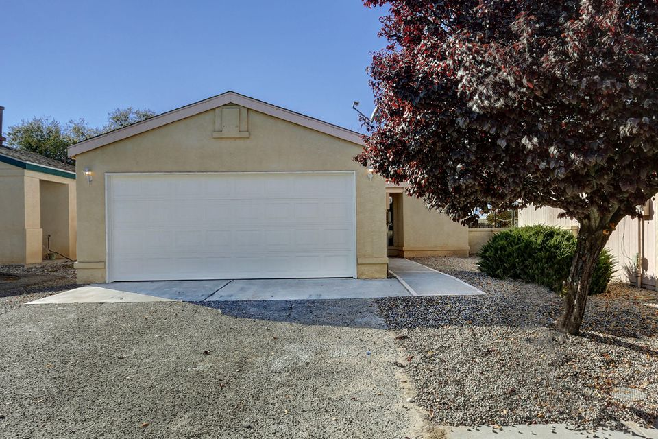Nice remodel.  New counter tops, new carpet, new stainless steel appliances. New water heater, new evaporative cooler.  New fixtures.  Move in ready.  NO Poly.  removed from street and house.