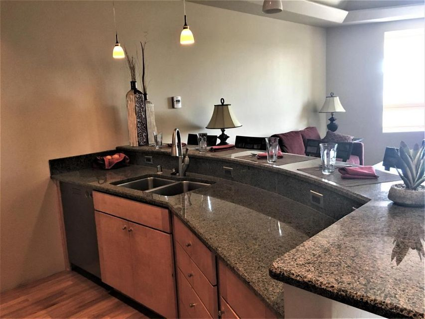Guard House/Service: No; Hist/Prop/Lndmrk:No; Rented: No; Land Lease; No HOA: Yes; HOA Dues/Month 247.62 HOA Mandatory: YesHOA Covers Type: Common Area; Ext of Residence; Insurance; SecurityNob Hill Luxury Living! Beautiful gleaming hardwood floors. Granite, Wolf, Sub-Zero and Asko, just to name a few of the higher end features. This fabulous home faces Central Ave and has a balcony overlooking Nob Hill. There are beautiful natural walnut and  granite located throughout. There is a lot of natural light with an open floor concept. The Family Room is directly of the kitchen with a beautiful 2 level modern staircase. Building has a common area patio with grill, elevator access, and secured entry. This unit does not have a garage.$1000 Buyer's Broker BONUS !!!!!!