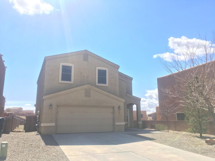 First look through 03/20/2018. Situated in a cul de sac neighborhood in a Norther Meadows, is this 3BD/4BA home. Outside you have a great sized, fenced backyard. Into the living room you have a kiva fireplace tucked in the corner. The kitchen has lots of counter top space and additional room for bar seating. Reminiscent of the rest of the house, the bedrooms are open and spacious. This is a very sweet home and move in ready. Come see today!