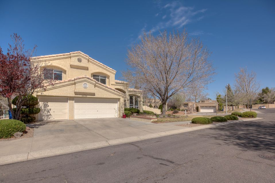 Beautifully updated home near the foothills in an amazing neighborhood with 5 bedrooms, 4 bathrooms, that sits on a corner lot.  This home has so much to offer with mature trees on property, 3 car garage, grand entrance and foyer that opens up into a large family room and vaulted ceilings to the 2nd story. The kitchen is one any chef would appreciate and love with a great layout, cook-top, double oven, wine fridge! All of this opens to living area! A huge plus to this home is the bedroom downstairs with its own private 3/4 bath perfect as a guest suite or mother in law quarters. Another great feature is laundry down and upstairs to make things a lot easier when it comes to laundry. The only way to appreciate this home for everything it has is to view in person! Open house 4/7/18 11am-2pm!