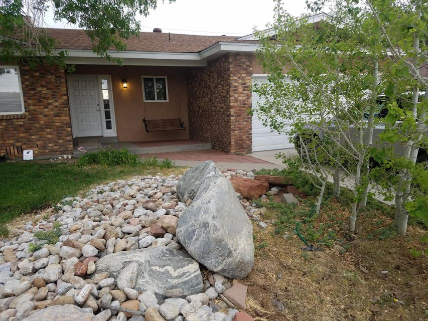 Completely remodeled and updated throughout. Rare 400 sq. ft. Finished Basement with a crawl space under the remainder of the house. Granite counter tops and hickory cabinets in the kitchen with a really functional breakfast bar, and stainless updated appliances, 20'' tile throughout. Huge family room has laminate flooring and a heat-a-later fire place with outside clean out. Three of the bedrooms have 3/4 inch refinished oak floors and the large master bedroom has new carpet and 2 large his and hers closets. Updated bathrooms with cultured marble tub and shower surrounds. All new ceiling fans and light fixtures throughout, recessed lighting in the kitchen and dining area. Completely converted to LED lighting throughout. New 40 year roof 4 years ago, new water heater 1 year ago,