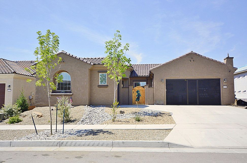 SERENITY MODEL! Upgrades galore!! Fantastic Del Webb gated community! Premium lot, wood tile flooring, plantation shutters, garage door screens, artistic landscaping, upgraded light fixtures & appls, private courtyard w/custom gate & stucco wall are just a few! Desirable open floor plan with 3 BDRS/2 BATHS + two living areas + 3CG! Gourmet kitchen features beautiful Alder cabinets, curved granite bar, built-In oven, gas cooktop, large pantry. Private Master suite features oversized shower, walk-in closet, double sink vanity. REFRIG AIR, tankless water heater, sep storage room heated & cooled in garage, workshop 3CG. Beautifully landscaped backyard w/garden area & huge covered patio to entertain family & friends. State of the art clubhouse, resort style pool, fitness center & sport court