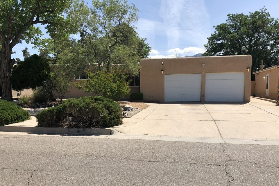 This lovely home is ideal for family living and entertaining with three separate living areas. Kitchen has updated countertops and tile back splash. It has 3 bedrooms plus office/study or possible 4th bedroom all with ceiling fans. Both baths have been recently updated. Oversized garage has bench, shelves and cabinets. Private backyard has inground pool and storage shed.