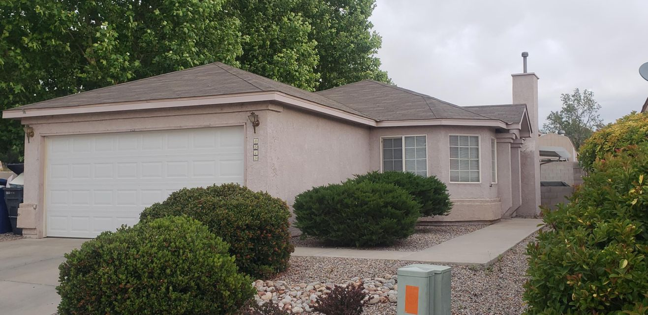 Amazing gem in a great Gated Community. Nice flowing floor plan with laminate flooring. Bright,Light, and Airy. Front And Back landscaping. Relaxing covered patio. Huge shade trees on west portion of the home. Best Location in the Community, right by the open area! This one won't last long!