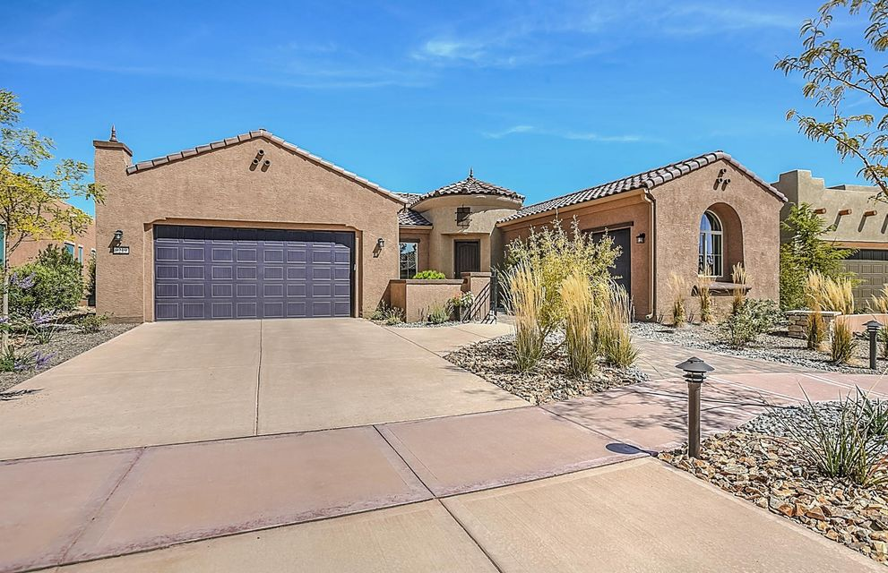This brand new Serenity home will feature an inviting courtyard entrance, kitchen with large oversized granite island that opens to a bright large gathering and dining room, 3-car garage, oversized covered patio, built-in stainless steel appliances, tile in extended areas, energy efficiency & more! Enjoy an active lifestyle at the Sandia Amenity Center with pool, fitness center, movement room, tennis, bocce and pickleball courts and more.