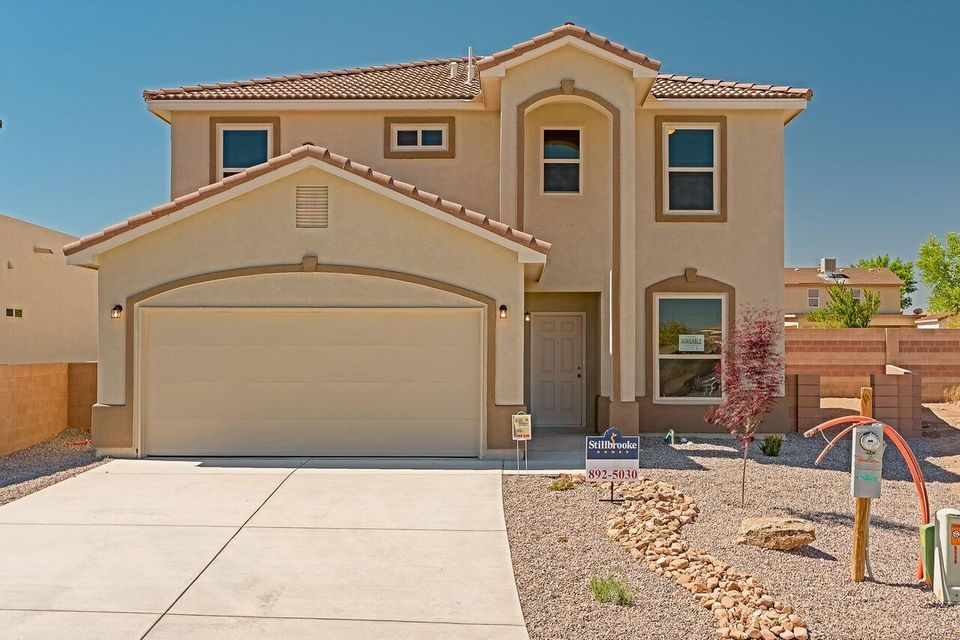 This spacious two story home family home has an open floor plan that you will love featuring a study/forth bedroom located downstairs with access to a 3/4 bath handy for guests. The open family room and dining room provide ample space for entertaining and an openness desired today.  The kitchen features granite counter tops and island and full compliment of appliances with a generous portion of  custom hand finished cabinets. The second level has a laundry room which makes for quick access from the bedrooms. The master suite features a spacious walk in closet and a master bath that includes a soaking tub.  In a great family neighborhood on a nice and a more private cul-de-sac