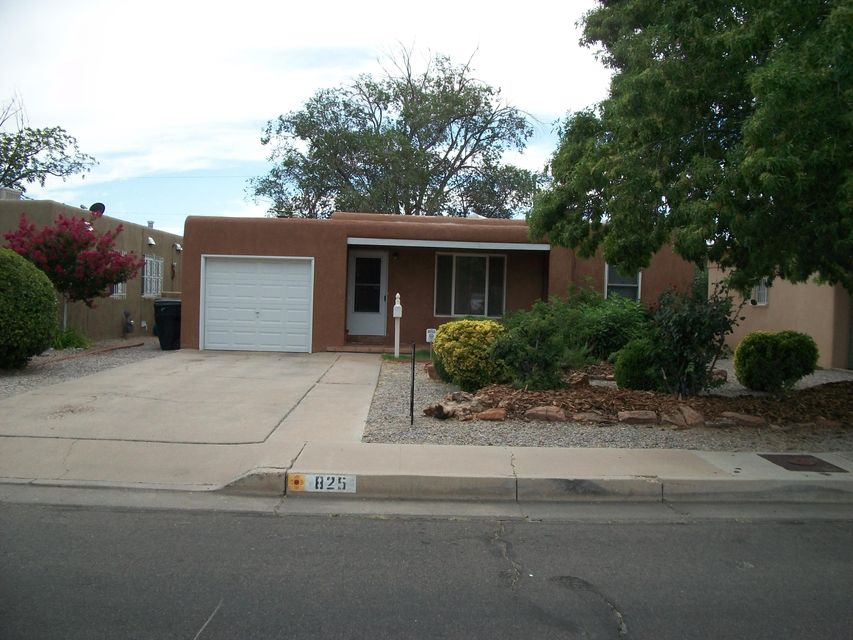 Refrigerated Air:  Nicely updated. Newer kitchen, baths, windows, sliding door, flooring.  Fans in kitchen and bedrooms.   3RD BEDROOM HAS 3/4 BATH PLUS WOOD BURNING STOVE,.  Back yard is huge with a storage shed that conveys.  Front yard is beautiful.  Close to hospitals, airport and base.  Great quiet neighborhood.  Did I mention Refrigerated Air?