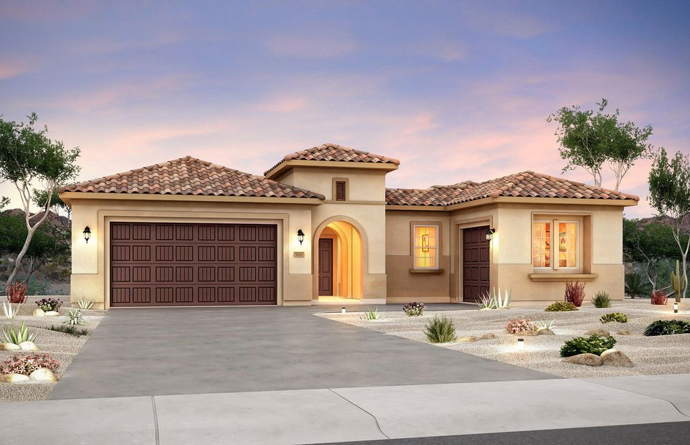 Enjoy our brand new Green built Del Webb Home! Features include 2x6 construction, tank less water heater w/recirculating pump, 14seer refrigerated air conditioner,  low E windows and so much more.  Our beautiful Journey home has a private courtyard entry and will feature a wonderful kitchen with an oversized island that opens to a bright inviting gathering  and dining room. Significant options include  3 car garage, upgraded Culinary kitchen includes  SS built in appliances, upgraded tile in extended areas! The guest suite will include a second living area and private entrance!
