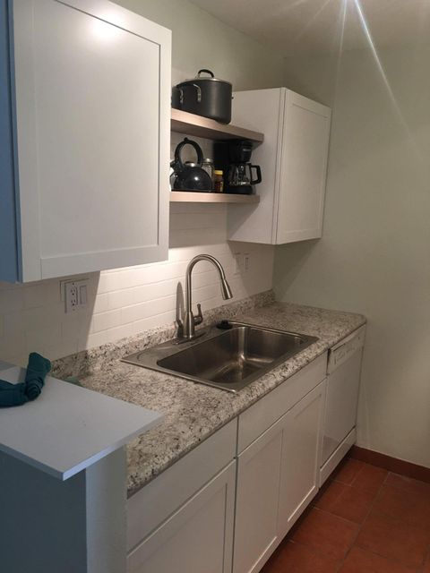 Location Location!  Close to everything from shopping, restaurants and movies!  Beautifully remodeled kitchen and bathroom in a community with indoor and outdoor pools, Landry rooms, fitness center and sauna!  What else do you need??  Won't last long! **Owner Financing**