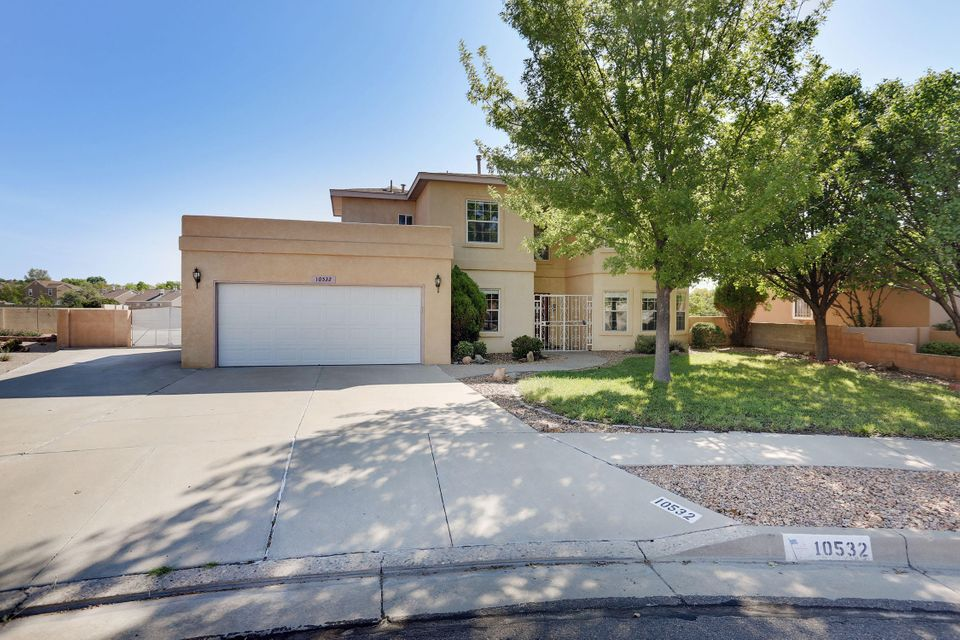 So your buyer wants it all??? Welcome to BEST Lot in the highly desired Saragossa Subdivision! Located on a Cul De Sac on a HUGE oversized lot with BACKYARD ACCESS, MECHANICS PIT, 2 storage sheds & GREAT VIEWS ! This gorgeous home offers 5 bedrooms! The Guest Bedroom/Mother-in-Law Suite is located privately downstairs, 3 full baths, 2 Living areas, Features 2 foyer's, downstairs and upstairs, granite counter tops, new carpet throughout, and freshly painted! You will not be disappointed, Come see for yourself!