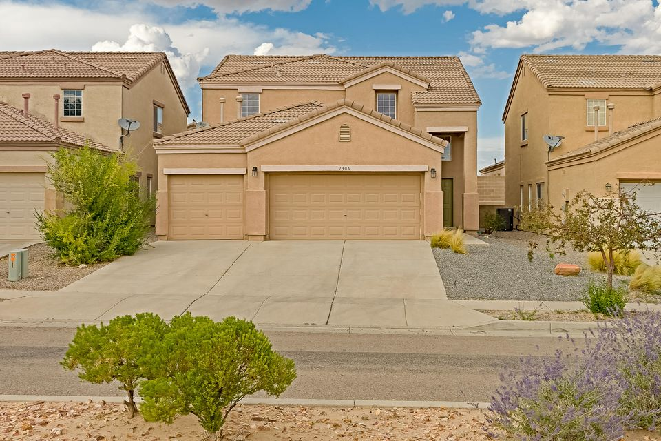 Open Sunday! WOW Factor here! Hard to find 4 BR & 3 CAR GARAGE WITH E-POXY, Ventana Ranch SANTA FE TRAILS UPGRADED & REMODELED , Crisp Clean & Drenched in Natural Light!  IN-LAW SUITE DOWN has 3/4 Bath accomodations, Beautiful, NEW WOOD FLOORING, NEW CARPET, NEW SS FRIG & MICROHOOD, NEW FIXTURES, FRESH DESIGNER PAINT, Gorgeous GRANITE in KT has island & Breakfast NOOK, 2 Living Areas, Spacious MASTER has Views & Dual Sink Vanity, GARDEN TUB, Separate Shower, Walk-in Closet, Spacious Secondary Bedrooms, Fresh CARPET, PAINT UP, TILE ROOF with EXTERIOR TWO-TONED PAINT, STUCCO, NEWROCK IN BY PRIVATE WALLED LOT, NearParks, WALKING TRAILS, Wonderful VVHS school, EZ access to PASEO & UNIVERSE,Three car garage is a MAN-Cave Paradise! DRENCHED IN SUN-LIGHT & MOVE-IN READY! Quick Close Possi