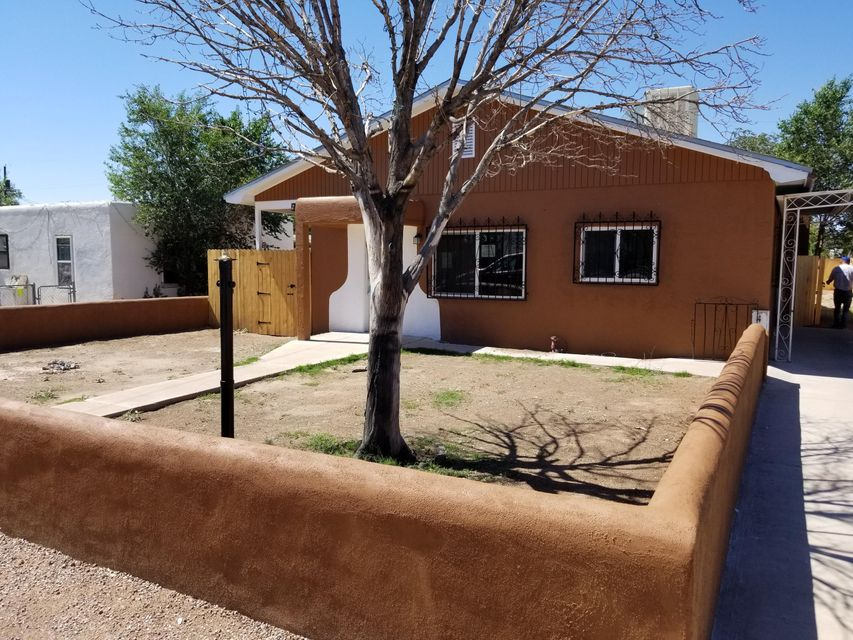 Home has been remodeled and is ready for a new family! This 3 Bedroom 2 bath home is located near the Farigrounds! Home is close to Shopping, Schools, Entertainment and Hospitals. Large Back yard with access through the carport. Fully fenced. All hard surface floor. Tile and Laminate flooring. New Granite counter tops, Refinished Cabinets, Ceiling Fan in Every room ( Two Bedrooms don't have direct heat! ) Home has been painted inside and out! This Place is ready and priced aggressively! Owner is Broker and is ready to make a Deal Happen!