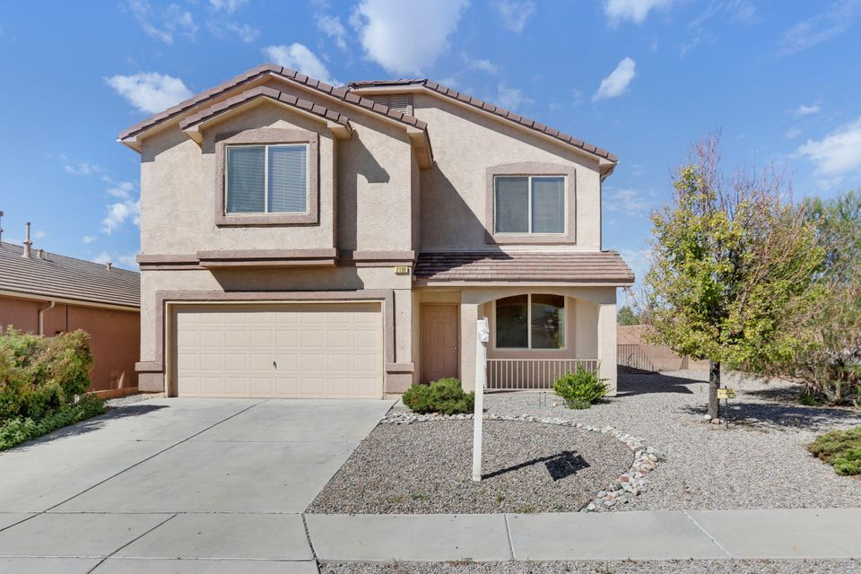 OPEN HOUSE SATURDAY NOVEMBER 17 FROM 12:00-2:00 PM!!! Welcome to this fantastic floorplan in this fantastic location! This home is located in the highly sought after Cabezon area. This area is known for them any walking trails and parks. This home features a very open floor plan with lots of natural light and spacious walk-in closet! This home is located on a corner lot and does not have a neighbor next to it. Now is your chance to make this home yours! Call today!