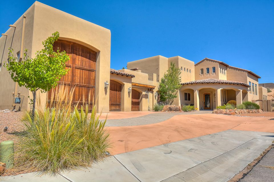 An entertainers delight!!!! gorgeous Tuscan style home with the perfect floor plan. whether your hosting all your family gatherings, or entertaining your guests, this home is definitely just right.  Beautiful master suite located on main floor, along with an additional bedroom on main floor also. One of the bedrooms on second floor also has a full bath. Granite counters throughout the home, custom hand made Alder cabinetry and doors, Thermador stainless steel appliances, separate formal dining area, game room with wet bar, Over sized RV garage with full hookup, side yard and back yard access leads you to a huge back yard with endless opportunities to fit your needs. Home has been very well taken care of, and is in like new condition. Schedule a tour of this beautiful home!!