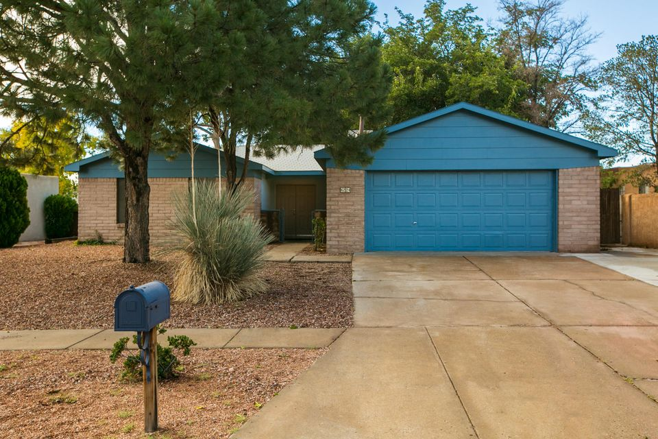 Come see this beautifully remodeled home! It comes with 2 updated bathrooms and a full renovated Kitchen. All new paint throughout and tile and wood flooring that ties it all in together. The cherry on top is the finished concrete pad in back which makes it great for entertaining.