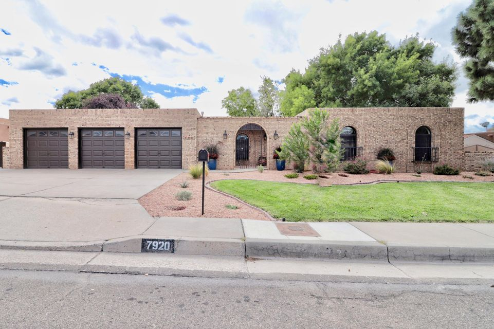 Appraisal, Inspections, & repairs Done! Beautiful home in the desirable Academy Estates  with a great location! This stunning remodeled home has it all from NEW tile floors, NEW Carpet, NEW Paint, NEW Garage doors/openers, Updated Windows installed in (2013/2016/2018), TPO Roof (2012), NEW Appliances, Ganite Kitchen Countertops, NEW garage openers, Upgraded Electrical to 200 amp (2012), NEW Refrigerated air (2016), NEW water heater (2012), updated front and backyard landscaping. Home comes with 4 bedrooms, 3 bathrooms, 3 car garage, 2 living areas with a Kiva fireplace in family room with wet bar, nice formal dining room, separate laundry room, large backyard with covered patio and water feature with pond. This home is perfect for entertaining and a home well taken care of.