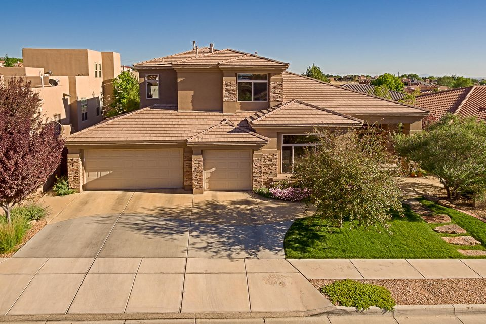 An exceptional opportunity awaits a discerning buyer looking for a spectacular home in the highly coveted, Community-Centric, gated Ocotillo Subdivision. This incredible Mechenbier home has it all, ample sized rooms for every imaginable use inside and out. Perfect home for entertaining and immaculately maintained! Spend your summer poolside in this gorgeous backyard with a sparkling pool, hot tub, and sumptuous landscape. Inside, you will find an open livable floor plan with beautiful classic finishes. The main floor master suite is a retreat with a generous bathroom, an incredible walk-in closet, and ample space for a sitting area. Downstairs 215 sq ft flex room could be used as office or additional bedroom. Upstairs second master bedroom/bath, 3 bedrooms, a jack & jill bath, and loft.