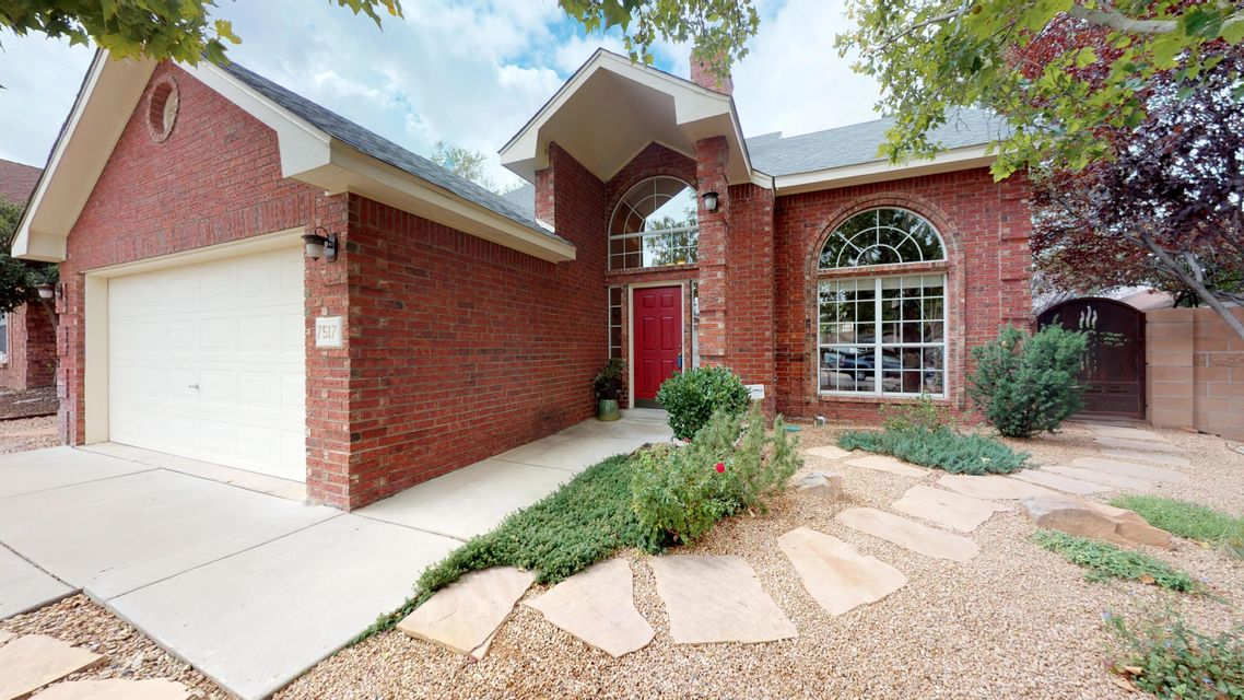 Beautiful 2-story Oppel-Jenkins brick home offers plenty of natural light, high ceilings, bay windows, and an open floor plan. Main floor features large living room w/ brick gas fireplace providing both ambience & heat for those chilly fall & winter nights. Large formal dining room with access to backyard flows into spacious kitchen. Kitchen presents ample of counter space for food prep w/ kitchen island, generous breakfast nook, whirlpool appliances, & plenty of oak cabinetry for storage. The delightful & spacious main floor Master bedroom has access to the outdoor covered patio perfect for enjoying your AM coffee. Enjoy a bath in the garden tub in the en suite Master Bath, that also has sizable walk-in shower w/ glass block, & a huge walk-in closet with custom shelving and drawers.