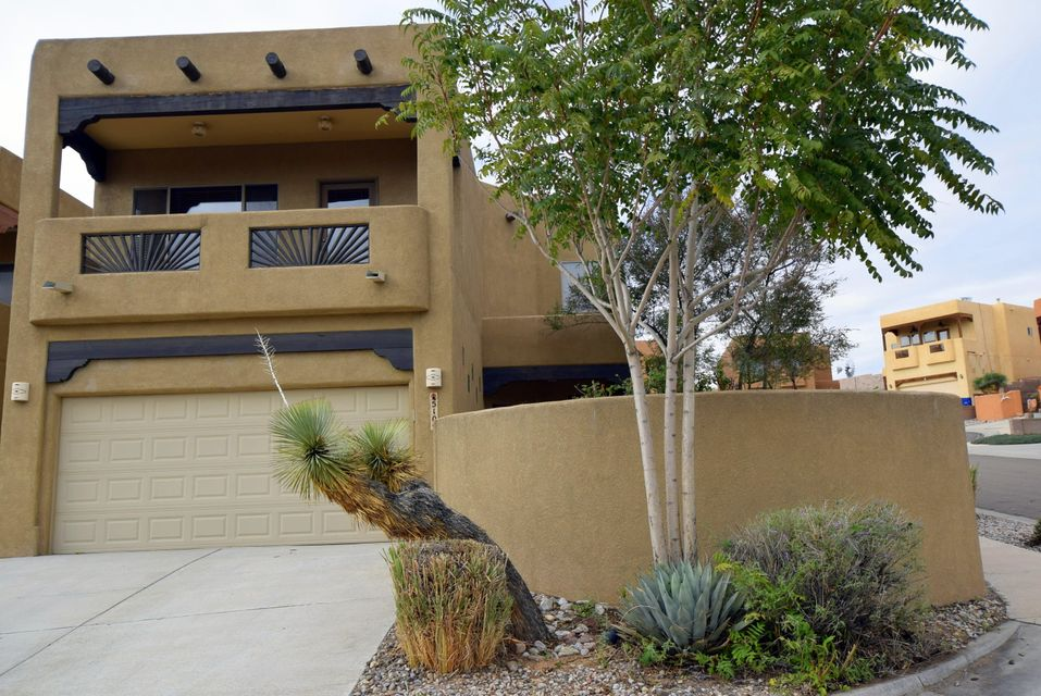 Welcome to your new home!  This beautiful home features a large open floor plan, gorgeous granite counters throughout!  Master suite features a two-way fireplace, jetted tub, covered deck with mountain views and two walk in closets!  Relax to another fireplace in the spacious living room!  Back yard features a covered patio and a terraced back yard.  Minutes away from restaurants, shopping centers, and movie theater.  Come see this home today, you will be AMAZED!