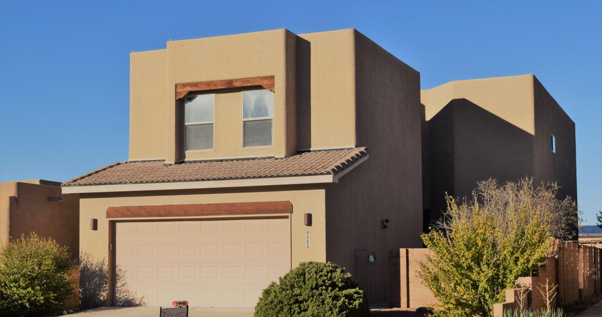 Beautiful well maintained home! Move-in-ready, low maintenance yard. Inspections done and repairs completed. Soaring ceilings in the living room, cove ceilings in kitchen and master bdrm. Bright, open kitchen with brkfst nook, dinning area, island, lots of  counter space/storage, 4yr old ss appliances. Upgraded ceiling fans throughout, 72'' fan blade in living room/master. Head upstairs to a private master bdrm with access to balcony and open master bath. Jetted tub, separate shower and dbl sinks. Walk-in closet plus an additional closet off mstr bath. Bedrooms are large with bench storage/seating in the windows. Nice size full bath upstairs and 1/2 bath for guest downstairs. Oversized garage. Close to shopping, dinning, trails, easy access to Coors. Come see this privately tucked away hom