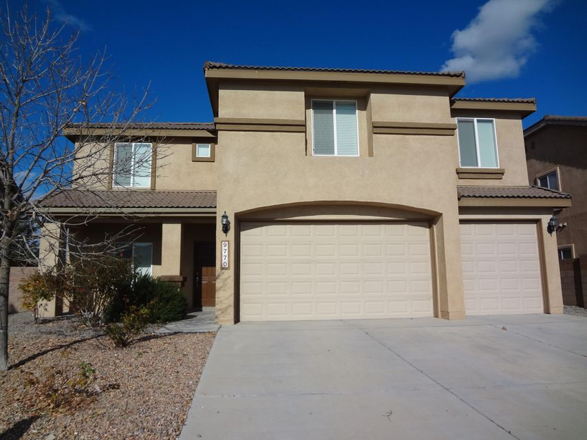 Move in before the holidays! Located in the Stormcloud community in a cul-de-sac and next to park. 3754 sq/ft, 3 car garage, 4 bedrooms with walk-in closets, seperate office, 3 bathrooms, 2-living areas and large recreation/game room with bar and wine cooler, large kitchen with island, granite counter tops and stainless steel appliances. Includes large backyard with covered patio and gazebo. Close to the NEW Community Collaborative School!